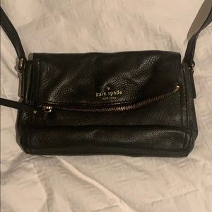 Black Kate Spade mini bag